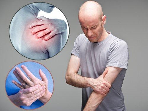Đau vai gáy có thể biến chứng, mang đến cảm giác tê bì, khó cử động ở tay