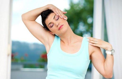 Bài tập 1: giãn cơ vùng cổ đề hỗ trợ điều trị thoái hoá đốt sống cổ