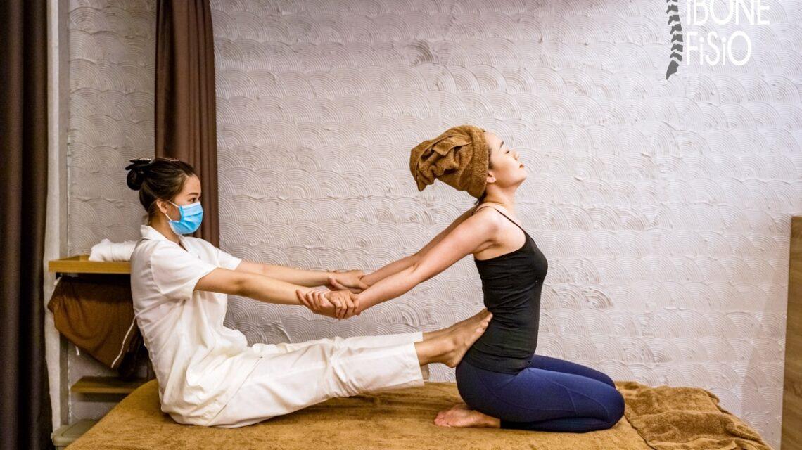 Những động tác massage sẽ giúp các cơ trên cơ thể bạn được nới giãn hiệu quả