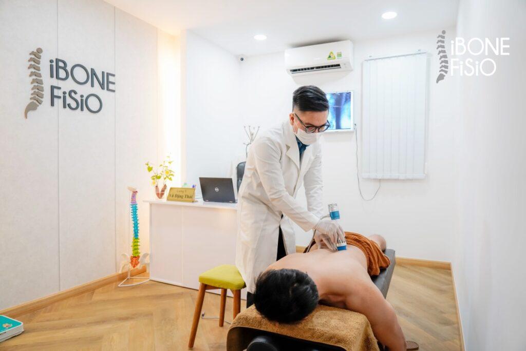 Liệu trình điều trị bằng massage còn giúp nâng cao tình trạng sức khỏe cơ thể